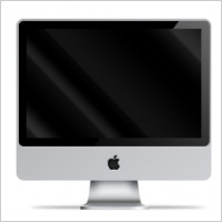 Link toPsd apple imac front view