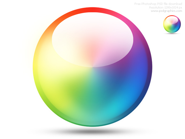 Link toPsd color wheel icon