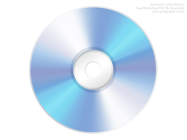 Link toPsd compact disc cd icon