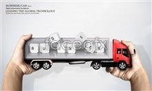 Link toPsd creative container truck pictures