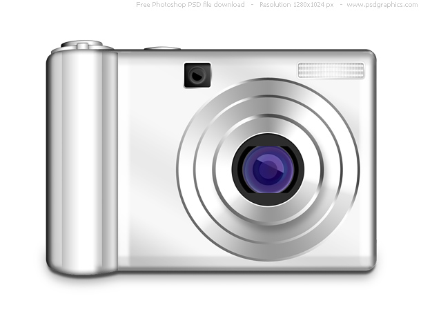 Link toPsd digital photo camera icon