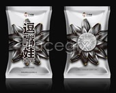 Psd douzui eva seeds packaging
