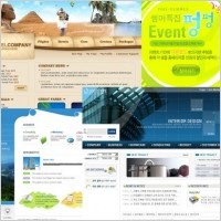 Link toPsd format the korean web templates collection is not easy welcome to share