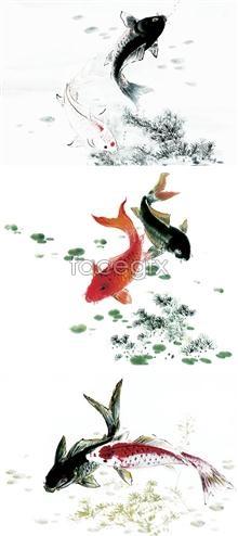 Psd ink fish