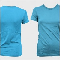 Link toPsd layered blank trend of female models shortsleeved tshirt template gomedia produced 3