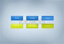 Link toPsd master minimalist and colorful web buttons