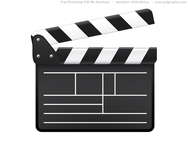 Link toPsd movie clapboard icon