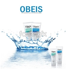 Link toPsd obeis cosmetics advertising