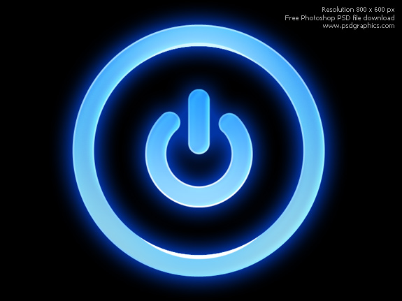 Link toPsd power button