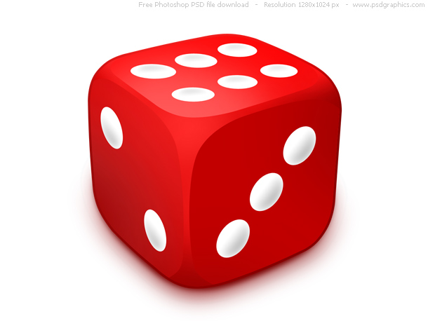 Link toPsd red dice icon