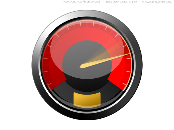 Link toPsd red speedometer icon
