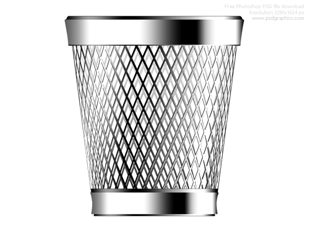 Link toPsd trash can icon