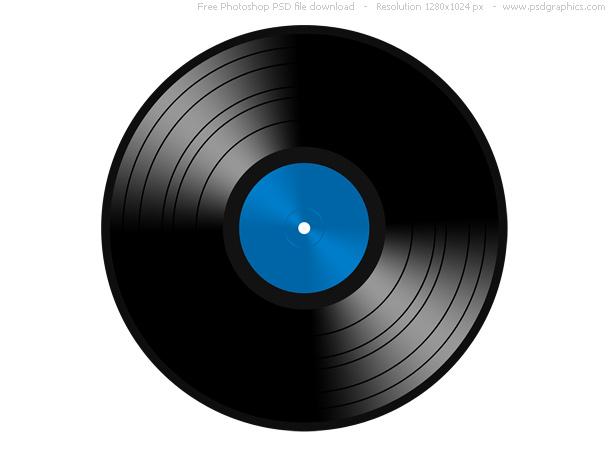 Link toPsd vinyl record icon