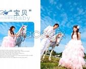 Link toPsd wedding album template