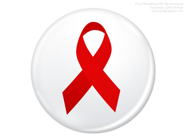 Link toPsd world aids day badge