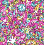 Link toPsychedelic art backgrounds vector