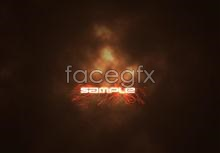 Link toPsychedelic flames cloud background psd