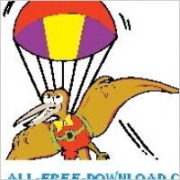 Link toPteradactyl with parachute
