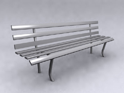 Link toPublic bench 3d models