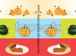 Link toPumpkin and cake vector