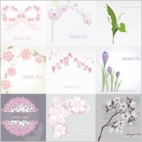Link toPure flower background vector