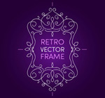 Link toPurple background by the end of the pattern vector