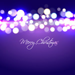 Link toPurple christmas background vector