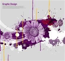 Link toPurple chrysanthemum korea design elements psd