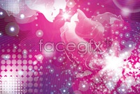 Link toPurple dots, abstract background vector