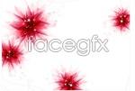 Link toPurple fantasy flower backgrounds vector