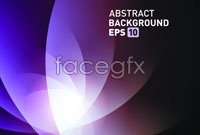 Link toPurple glow-arc background vector