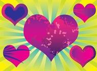 Link toPurple heart vectors free