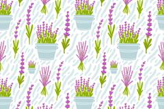 Link toPurple, lavender seamless vector background