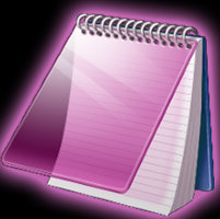 Link to_purple pack_ notepad or textfile icon