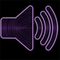 Link to_purple pack_ winamp or audio player icon
