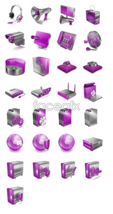 Link toPurple pages small icons