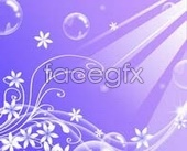 Purple ray design sliding door designs psd