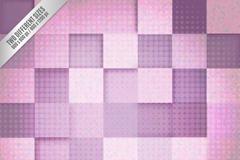 Link toPurple squares background design vector