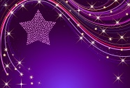 Link toPurple stars background pictures