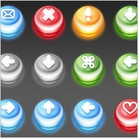 Link toPush down buttons icons pack
