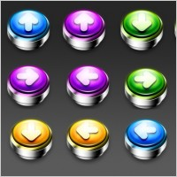 Link toPushdown buttons 2 icons pack