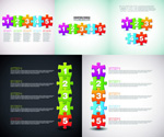 Link toPuzzle background vector