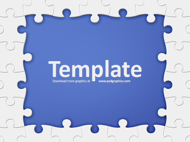 Link toPuzzle frame template psd