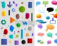 Link toillustration vector box dialog version Q