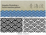 Link toQinghai traditional patterns vector