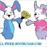 Link toRabbit giving flowers