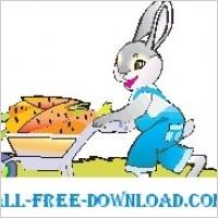 Link toRabbit with carrots 1