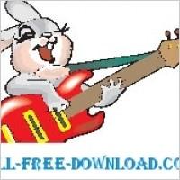 Link toRabbit with guitar