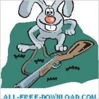 Link toRabbit with gun