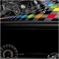 Link toRacing theme background pattern 03 vector
